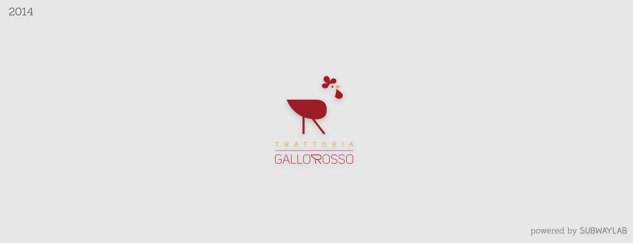 Subwaylab Logo Collection_trattoria gallo rosso 2014